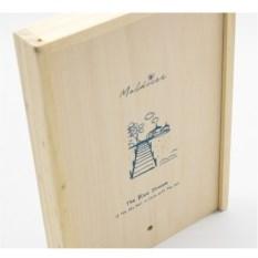 Креативбук в деревянной коробке Мальдивы