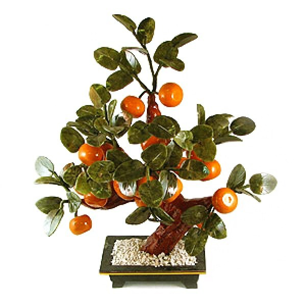 Бонсай (37 см) Мандарин (дерево счастья)