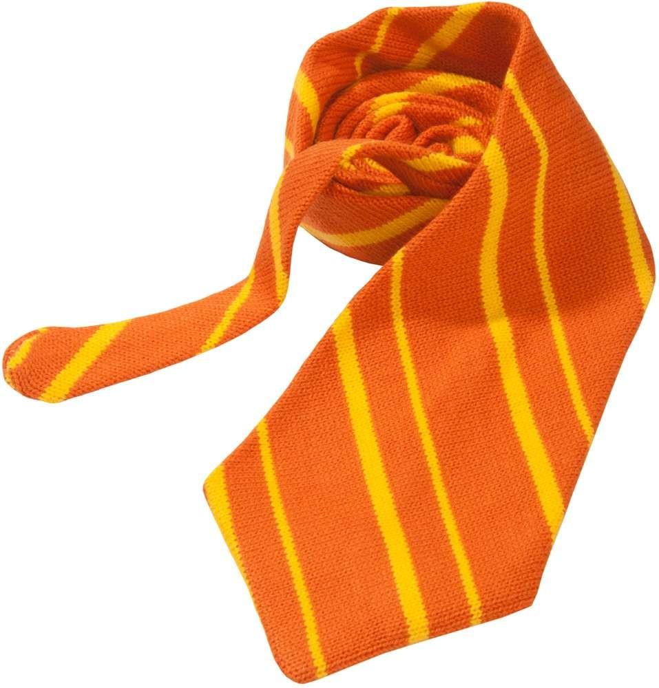 Вязаный галстук Orange