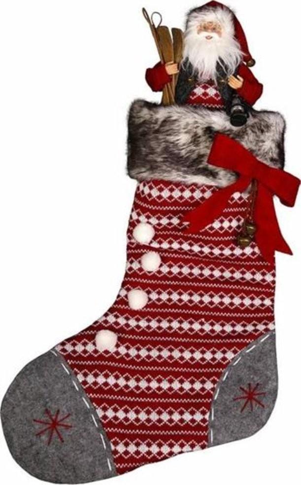 Носок для подарков Дед Мороз Mister Christmas