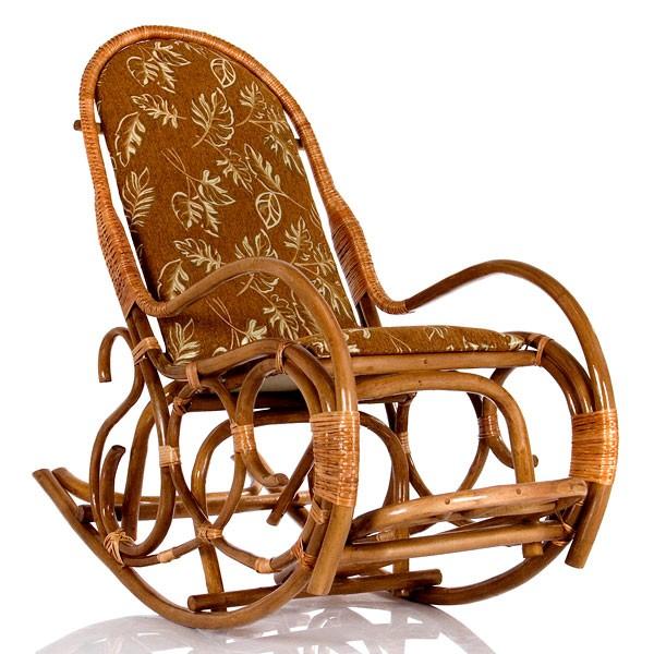 Кресло-качалка плетеное Рамонь