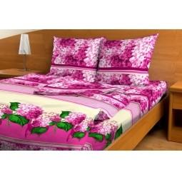 Комплект постельного белья с бамбуком Гортензия, евро