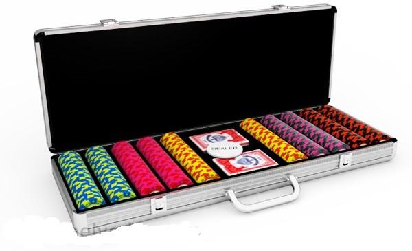 Набор для покера Paradigma Star на 500 фишек