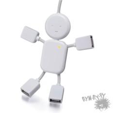 USB-хаб на 4 порта Человечек