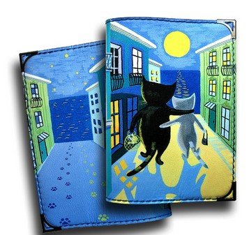 Обложка для паспорта Лунная дорожка