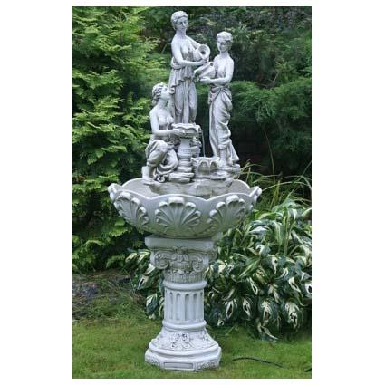 Напольный фонтан Три грации