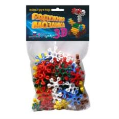 Пластмассовая игрушка-конструктор Радужная мозаика 3D №1