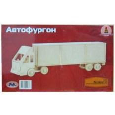 Деревянная сборная модель Автофургон