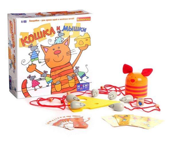 Настольная детская игра Кошка и мышки