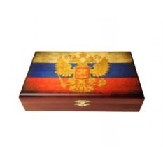 Домино в шкатулке Российские