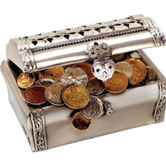 Скульптура Сундук с монетами