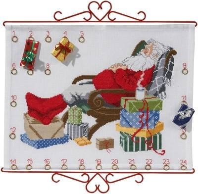 Набор для вышивания Рождественский календарь