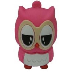 Флешка Розовая сова