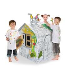 Картонный домик Джунгли