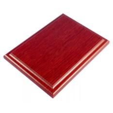 Плакетка Красное дерево