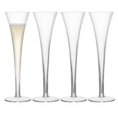 Набор из 4 бокалов-флейт для шампанского Aurelia
