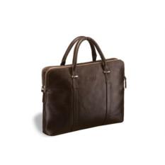 Деловая коричневая сумка Brialdi Durango
