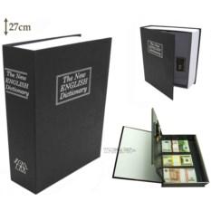 Книга-сейф с замком The new english dictionary Black (27 см)