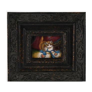 Картина «Кошка» 7х5