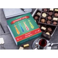 Бельгийский шоколад в подарочной упаковке Мужу моей мечты