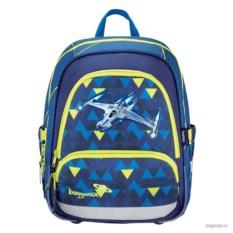 Синий школьный ранец Step by Step School baggy Max Speedy