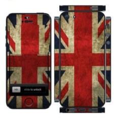 Наклейка на iphone Британский флаг