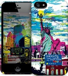 Чехол для iPhone 5/5s Gelaskins New York Skyline
