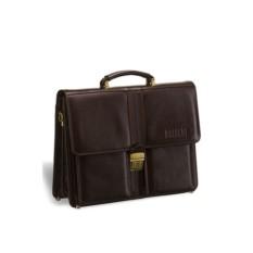 Классический коричневый портфель Brialdi Asti