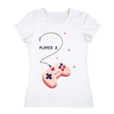 Женская футболка из хлопка Perfect team