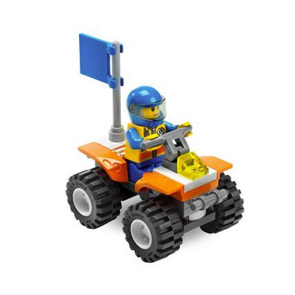 Квадроцикл Lego City