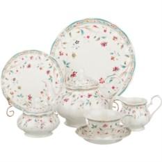 Чайно-столовый сервиз на 12 персон из 40 предметов Роскошь