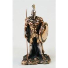 Статуэтка Воин спартанец с копьем