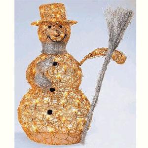 Снеговик из мастиЖерлиця своими руками