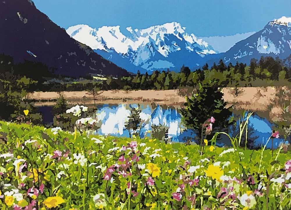 Картины по номерам Paintboy «Альпы»