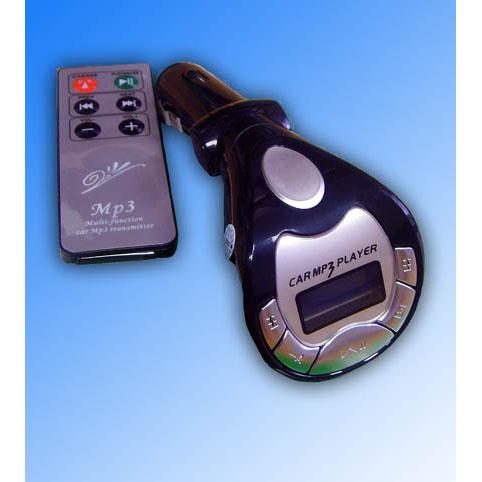 Автомобильный модулятор 034 «3 в 1» с пультом