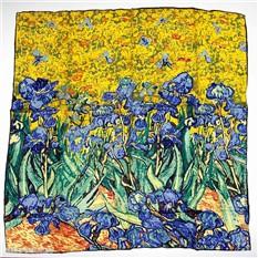 Платок Ирисы. Ван Гог