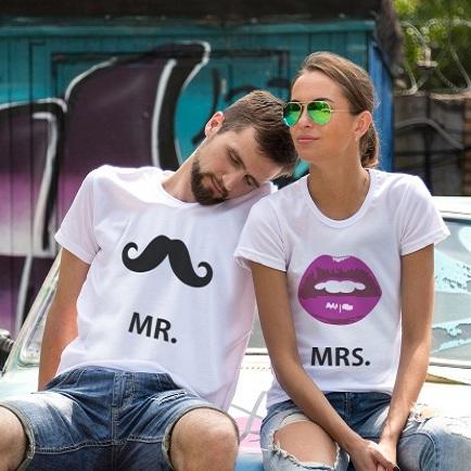Парные футболки Мистер ус