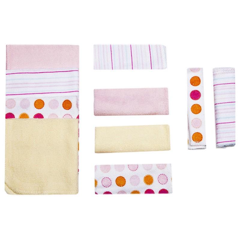 Розовые салфетки для купания