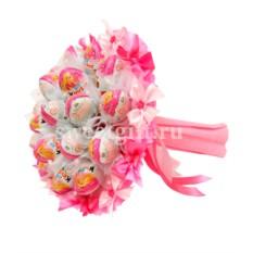 Букет из конфет Розовое счастье