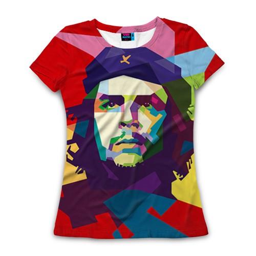Женская футболка 3D Че Гевара