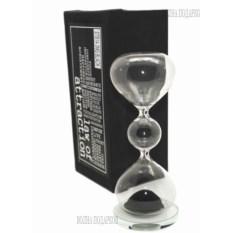Песочные магнитные часы Завораживающая иллюзия (черный)