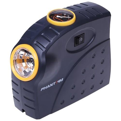 Автомобильный компрессор с фонарем «Ergonomics»