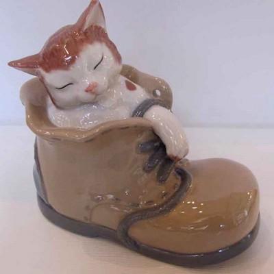 Кот в ботинке (выс. 13 см.)