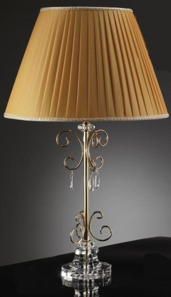 Настольная лампа Золотая капля, Linea Regalo
