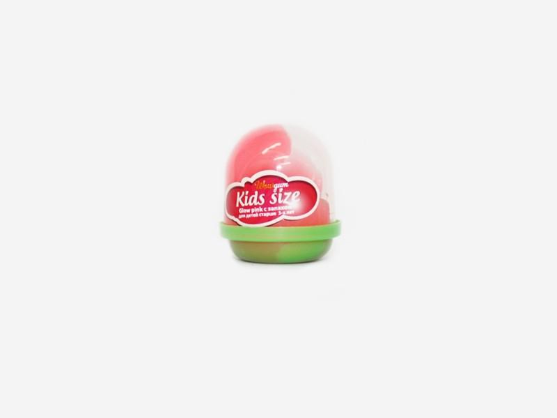 Жвачка для рук Glow pink Kids, с запахом