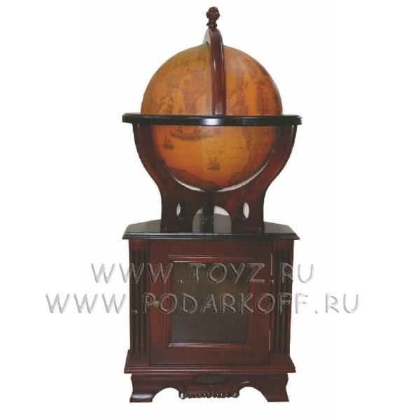Глобус-бар с угловой тумбой
