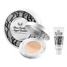 Пудра Secret Key Face coating angel cushion+refill