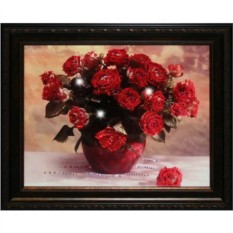 Картина с кристаллами Swarovski Миллион алых роз