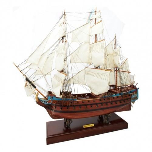 Модель корабля линкор Святой Павел