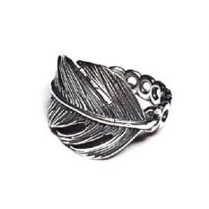 Модульное кольцо Перо (серебро)